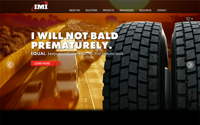 IMI Rebrand and Website Featured in Tire Business.com