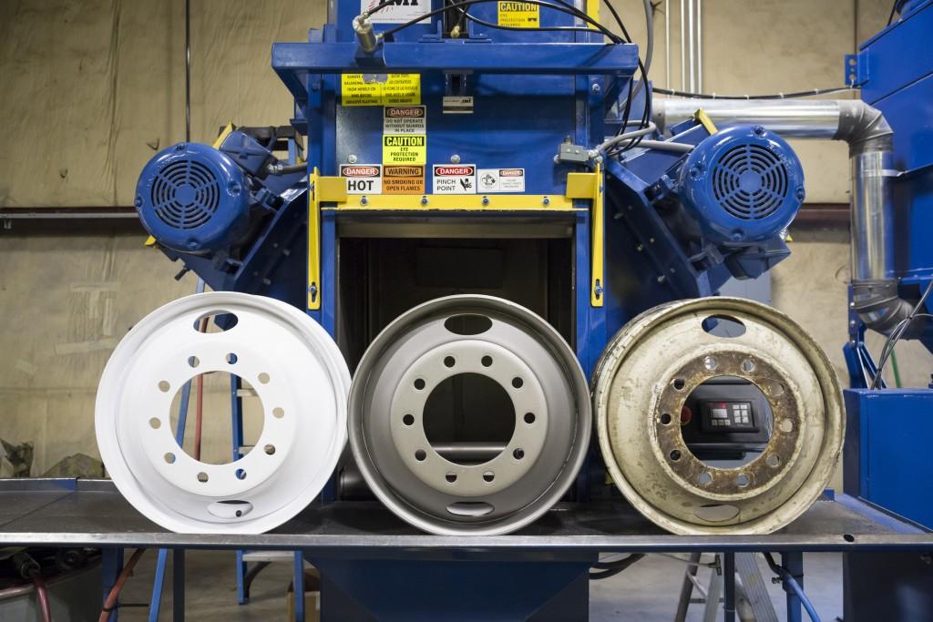 MILCURE Process - Wheel Refinishing