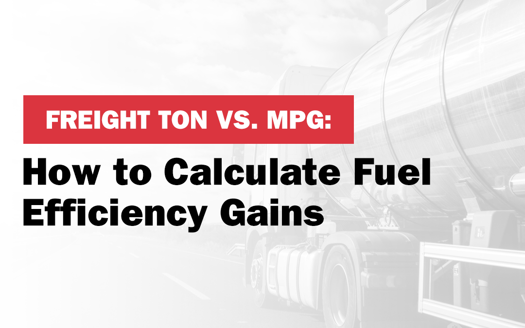 How to calculate fuel efficiency gains