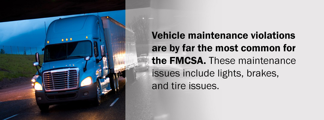 Common CSA Tire Violations
