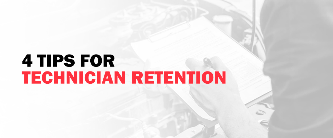 4 Tips for Technician Retention