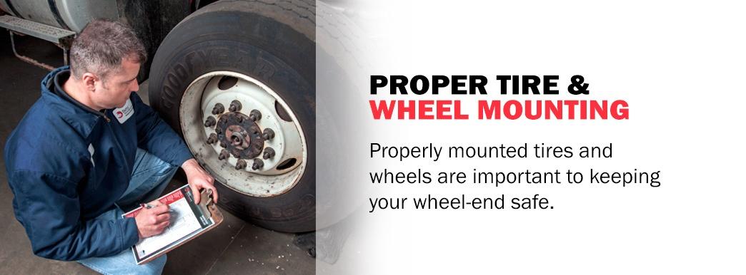 Proper Wheel Mounting