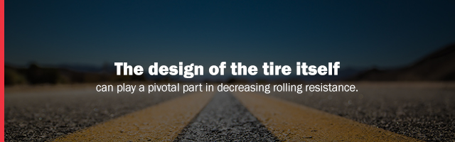 tire design effects rolling resistance