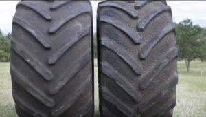 Ag Tire Stubble Damage