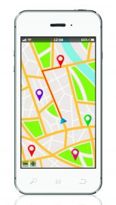 Cell Phone Map